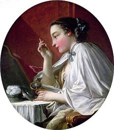 Boucher | Woman at Her Toilet | Giclée Canvas Print