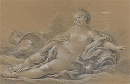 Boucher | Venus Reclining on a Dolphin | Giclée Canvas Print