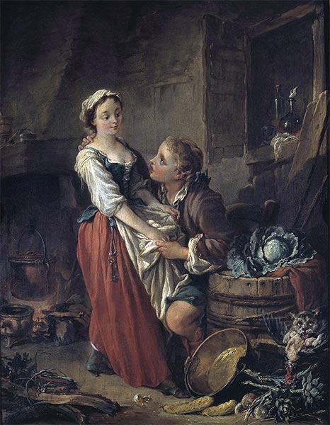 The Beautiful Cook, c.1735 | Boucher | Giclée Canvas Print