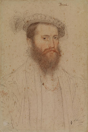 Portrait of Pierre de Cluys, Lord of Briande, c.1551 | Francois Clouet | Giclée Paper Print