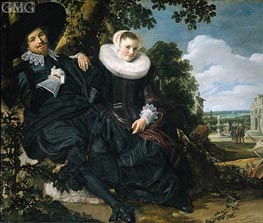 Frans Hals | Married Couple in a Garden, c.1622 | Giclée Canvas Print