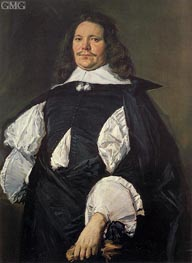 Frans Hals | Portrait of a Man, c.1660 | Giclée Canvas Print
