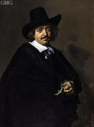 Frans Hals | Portrait of a Man, c.1650/52 | Giclée Canvas Print