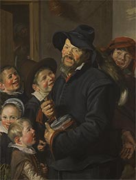 Frans Hals | The Rommel-Pot Player, c.1618/22 | Giclée Canvas Print