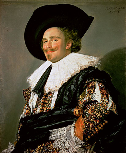 The Laughing Cavalier, 1624 | Frans Hals | Painting Reproduction