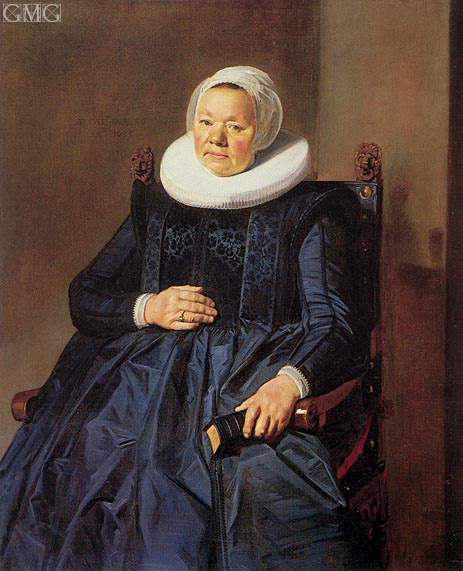 Frans Hals | Portrait of a Woman, 1635 | Giclée Canvas Print
