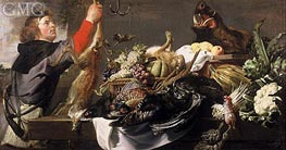 Frans Snyders | Still life with Huntsman, c.1615 | Giclée Canvas Print
