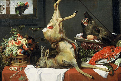 Still Life with Boar Head, c.1630/50  | Frans Snyders | Giclée Canvas Print