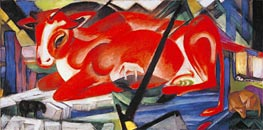 Franz Marc | The World Cow, 1913 | Giclée Canvas Print