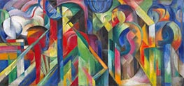 Franz Marc | Stables, 1913 | Giclée Canvas Print