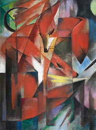 Franz Marc | Foxes | Giclée Canvas Print