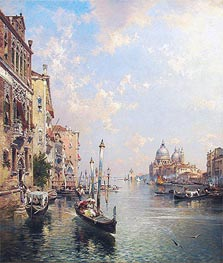 Unterberger | Grand Canal, Venice | Giclée Canvas Print