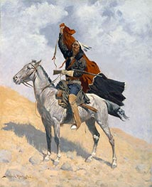 Frederic Remington | The Blanket Signal, c.1896 | Giclée Canvas Print
