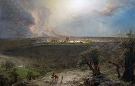 Frederic Edwin Church | Jerusalem from the Mount of Olives | Giclée Canvas Print