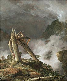 Frederic Edwin Church | Storm in the Mountains | Giclée Canvas Print