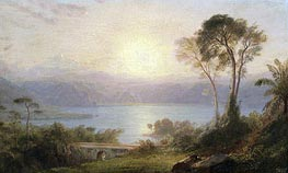 Frederic Edwin Church | Tropical Landscape | Giclée Canvas Print