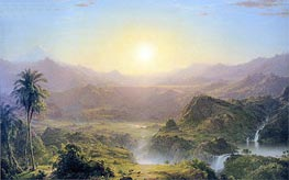 Frederic Edwin Church | The Andes of Ecuador | Giclée Canvas Print