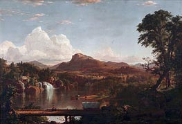 Frederic Edwin Church | Scene in the Catskills | Giclée Canvas Print