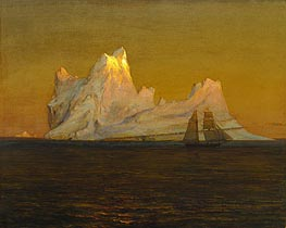 Frederic Edwin Church | The Iceberg | Giclée Canvas Print