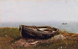 Frederic Edwin Church | Abandoned Skiff | Giclée Canvas Print