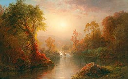 Frederic Edwin Church | Autumn | Giclée Canvas Print