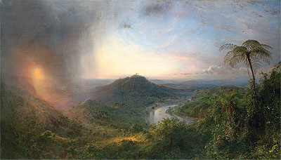Vale of St. Thomas, Jamaica, 1867 | Frederic Edwin Church | Giclée Canvas Print