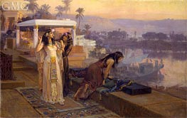 Frederick Arthur Bridgman | Cleopatra on the Terraces of Philae | Giclée Canvas Print