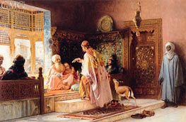 Frederick Arthur Bridgman | The Messenger | Giclée Canvas Print