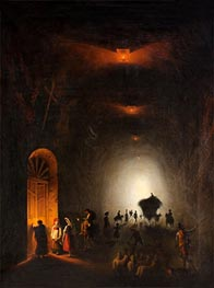 Friedrich Nerly | Tunnel in Possillipo, Naples, undated | Giclée Canvas Print