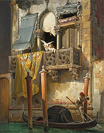 Friedrich Nerly | The House of Desdemona | Giclée Canvas Print