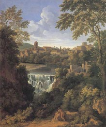 Gaspard Poussin Dughet | The Falls of Tivoli, c.1661 | Giclée Canvas Print