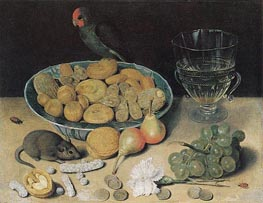 Georg Flegel | Dessert Still Life, undated | Giclée Canvas Print