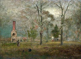 George Inness | Grey day, Goochland | Giclée Canvas Print