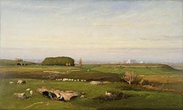 George Inness | In the Roman Campagna | Giclée Canvas Print