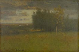 George Inness | The Valley on a Gloomy Day | Giclée Canvas Print
