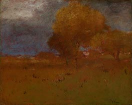 George Inness | Autumn in Montclair | Giclée Canvas Print