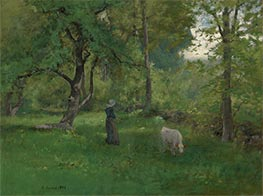 George Inness | Green Landscape, 1886 | Giclée Canvas Print