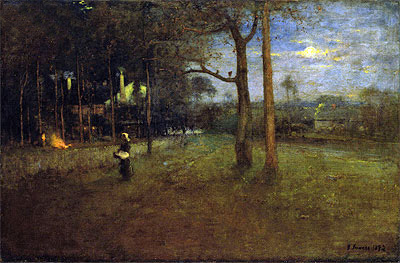 Moonlight, Tarpon Springs, 1892 | George Inness | Giclée Canvas Print