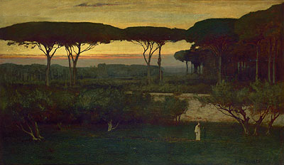 The Monk, 1873 | George Inness | Giclée Canvas Print