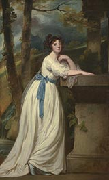George Romney | Portrait of Mrs. Andrew Reid | Giclée Canvas Print