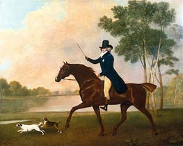 George Stubbs | George IV when Prince of Wales, 1791 | Giclée Canvas Print