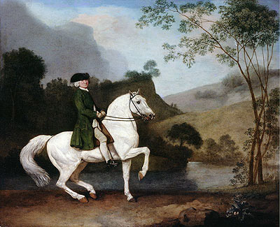 Sir Sidney Meadows, 1778 | George Stubbs | Painting Reproduction