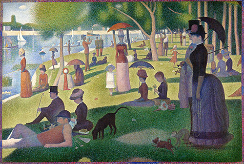 A Sunday on La Grande Jatte, c.1884/86 | Georges Seurat | Giclée Canvas Print