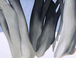 O'Keeffe | Bare Tree Trunks with Snow, 1946 | Giclée Canvas Print