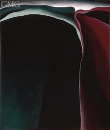 O'Keeffe | Dark Abstraction, 1924 | Giclée Canvas Print