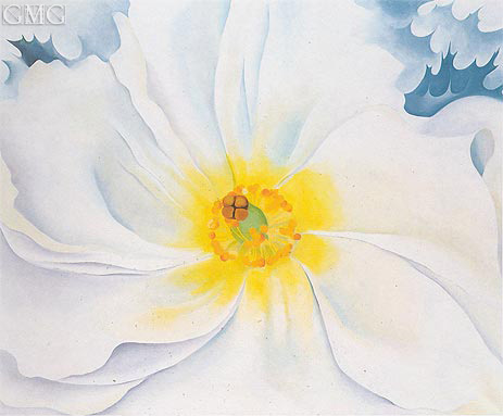 White Flower, 1929 | O'Keeffe | Giclée Canvas Print