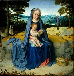 Gerard David | The Rest on the Flight into Egypt, c.1510 | Giclée Canvas Print