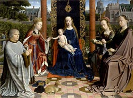 Gerard David | The Virgin and Child with Saints and Donor, c.1510 | Giclée Canvas Print