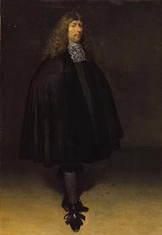 Gerard ter Borch | Self Portrait, c.1668 | Giclée Canvas Print