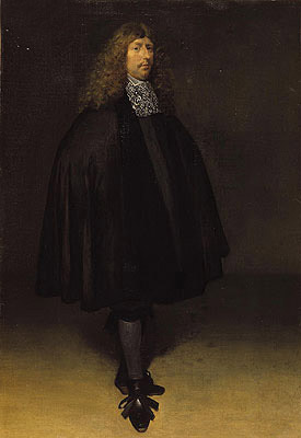 Self Portrait, c.1668 | Gerard ter Borch | Giclée Canvas Print